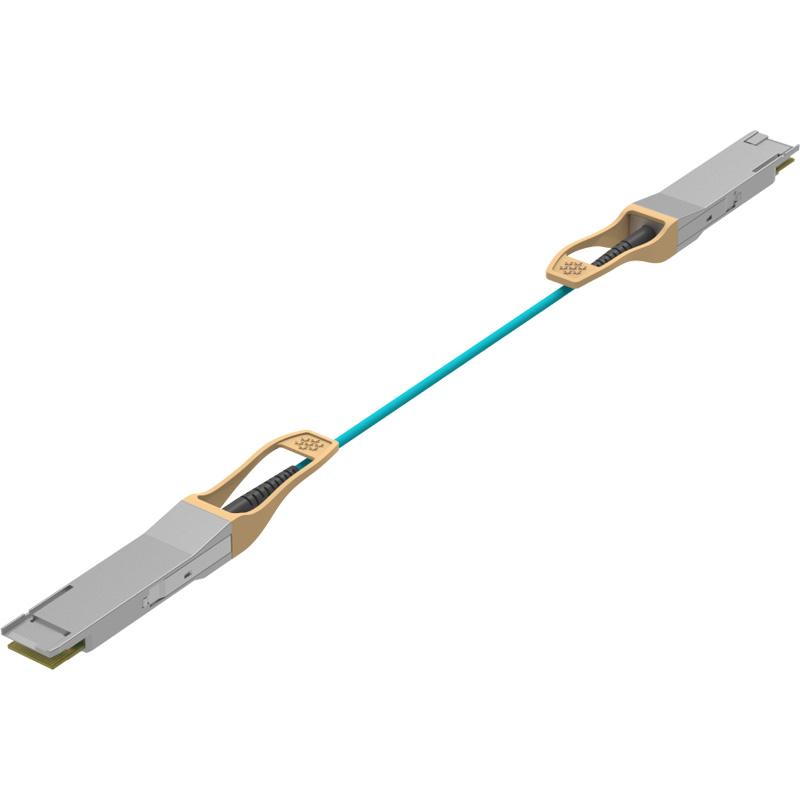 200G QSFP28-DD to QSFP28-DD AOC, 200G QSFP28-DD Active Optical Cable