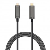 DisplayPort 1.2 AOC, USB Type C-C, Hybrid 21.6Gbps 4K60 DP 1.2 Active Optical Cable