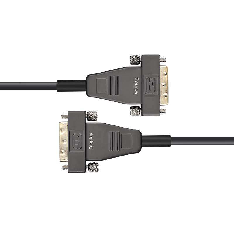 DVI AOC, Hybrid 10.2Gbps 4K30 DVI Active Optical Cable