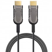 HDMI 2.0 AOC, Type A to Type A, Hybrid 18Gbps 4K60 HDMI 2.0 Active Optical Cable